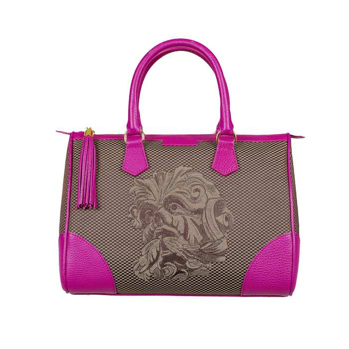Monya Grana - My Bag mask Hybla Brown/Fuxia