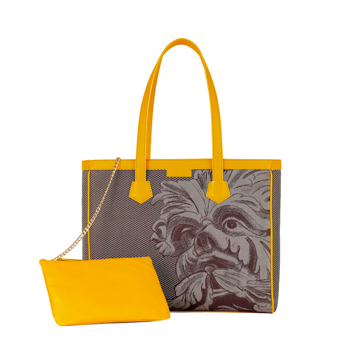 Monya Grana - Shopper mask Hybla Brown/Yellow