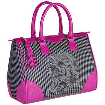 Monya Grana - My Bag mask Hybla Black/Fuxia