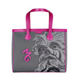 Monya Grana - Shopper mask Hybla Black/Fuxia